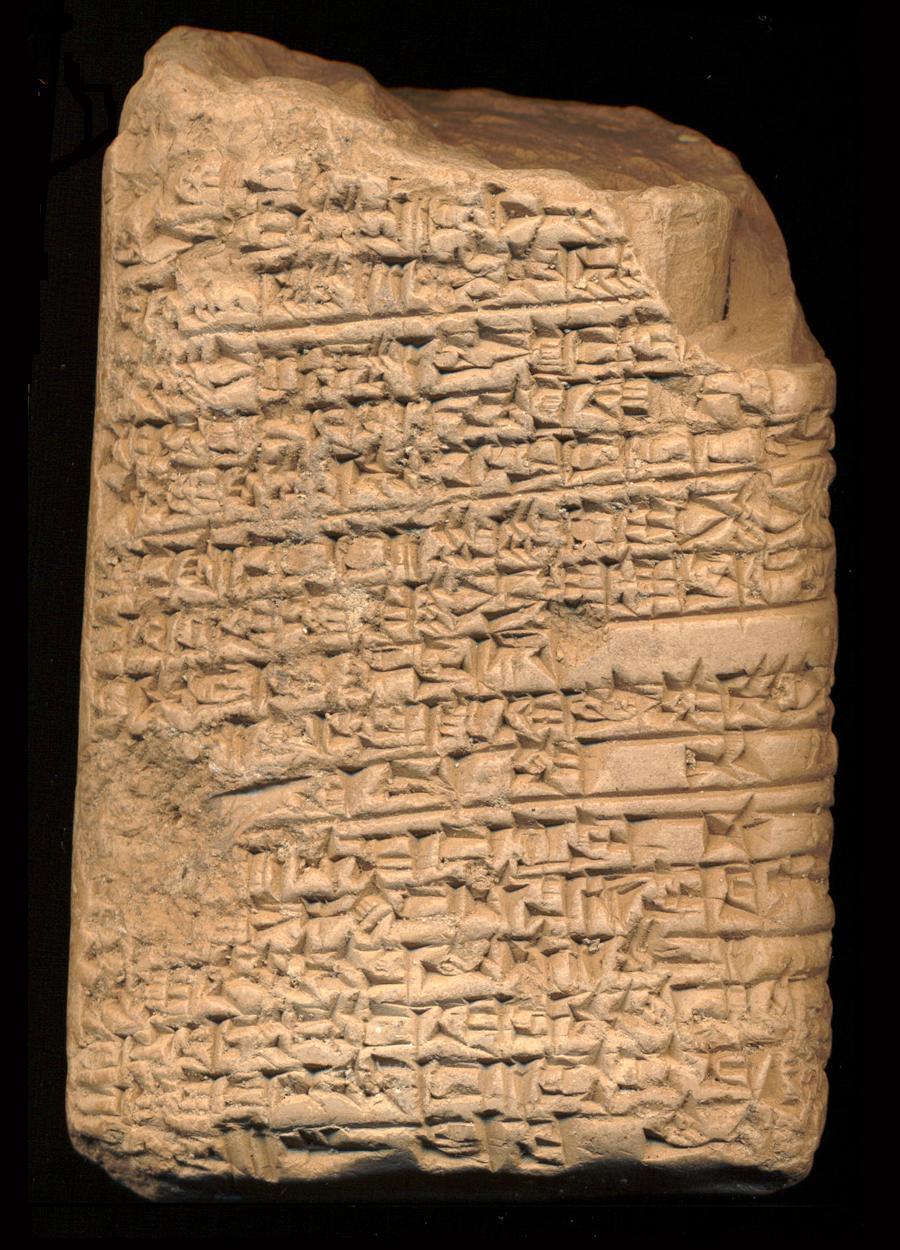 mesopotamia writing